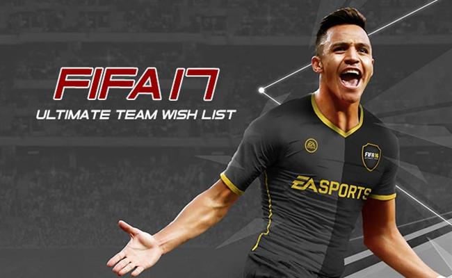 FIFA 17 Wishlist