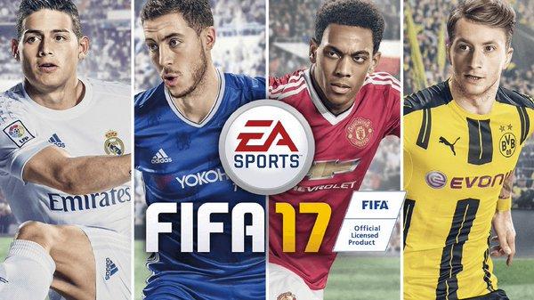 FIFA 17 Cover Star