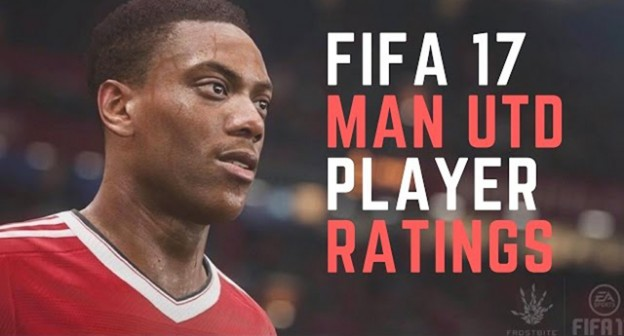 fifa 17 man utd player ratings