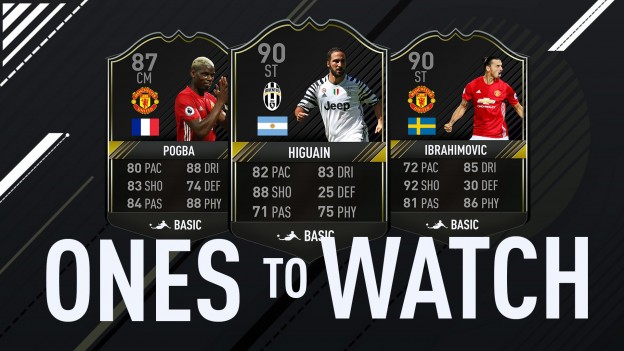 fifa 17 ultimate team ones to watch