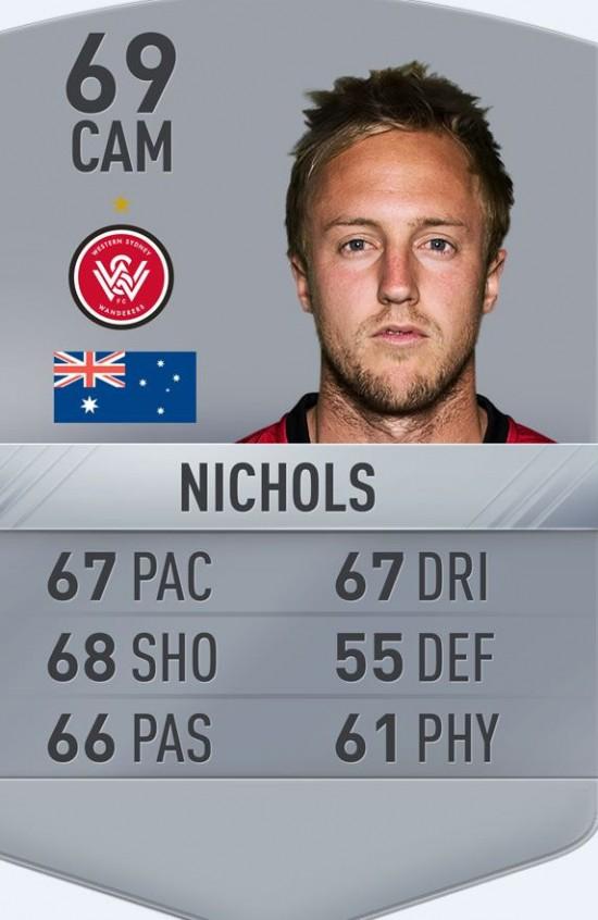 nichols fifa 17 card
