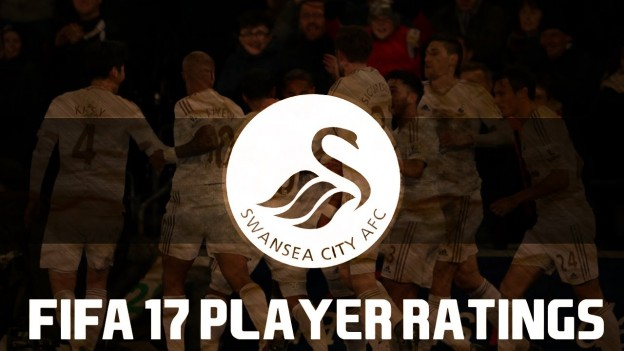 swansea fifa 17 ratings