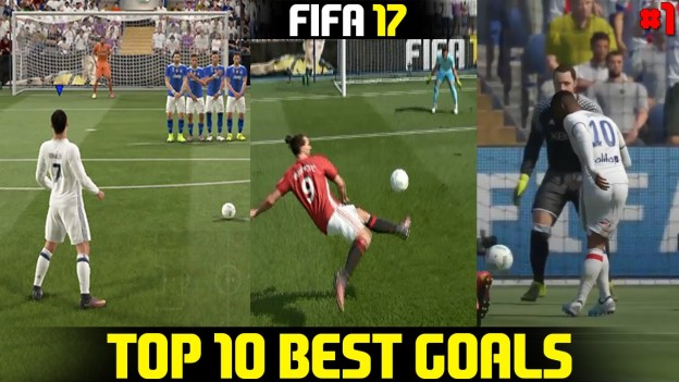 fifa 17 top 10 best goals
