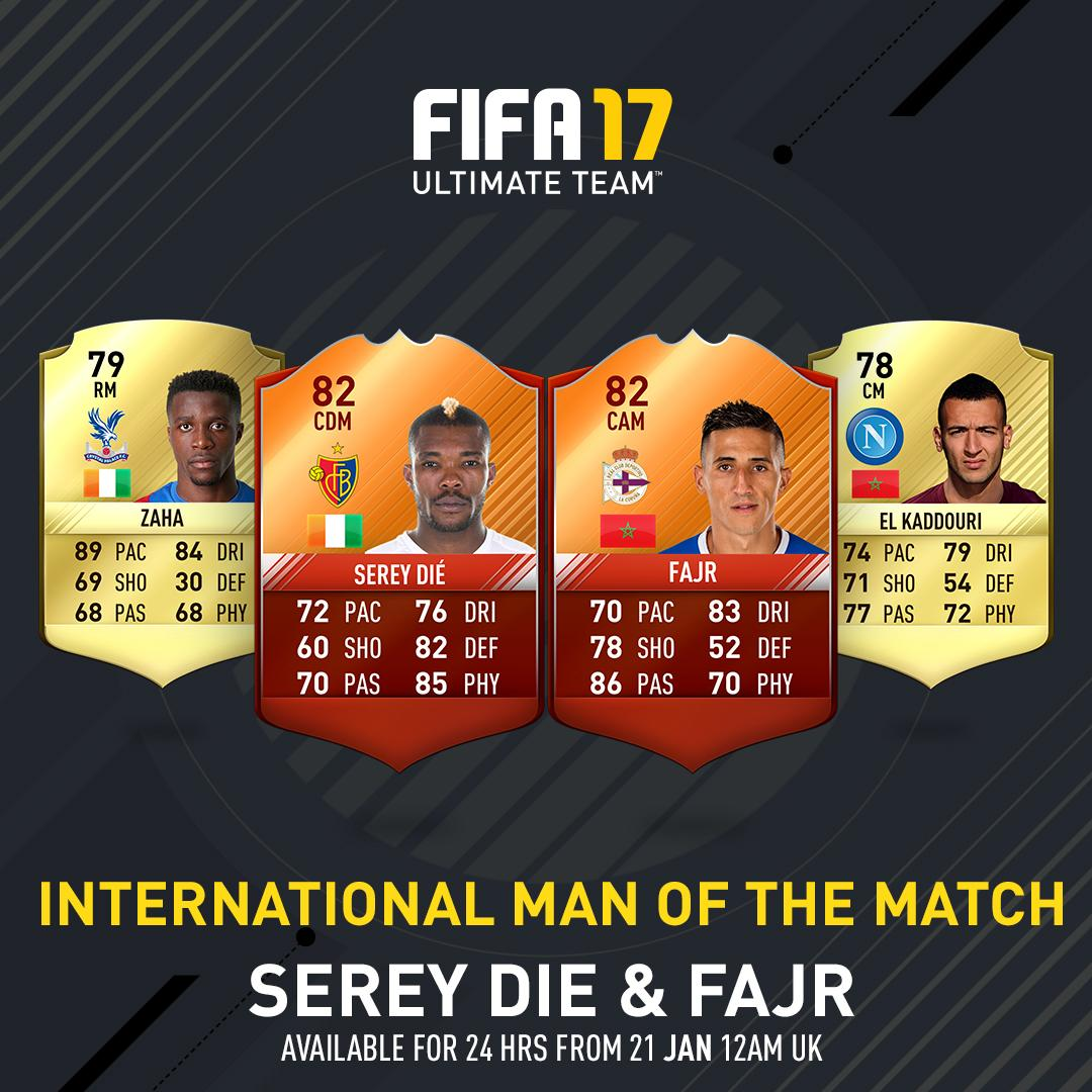 fifa17 IMOTM Serey Die and Fajr