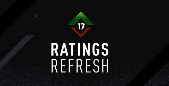 FIFA 17 Ratings Refresh