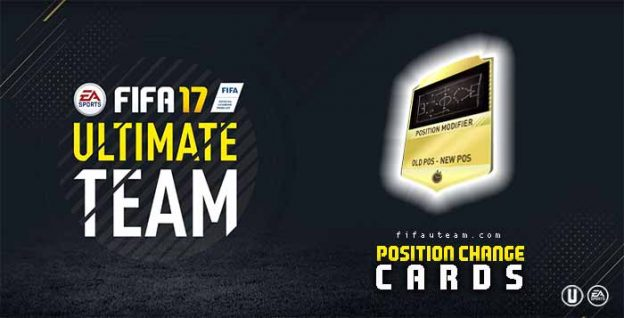 FIFA 17 New Position Change Cards