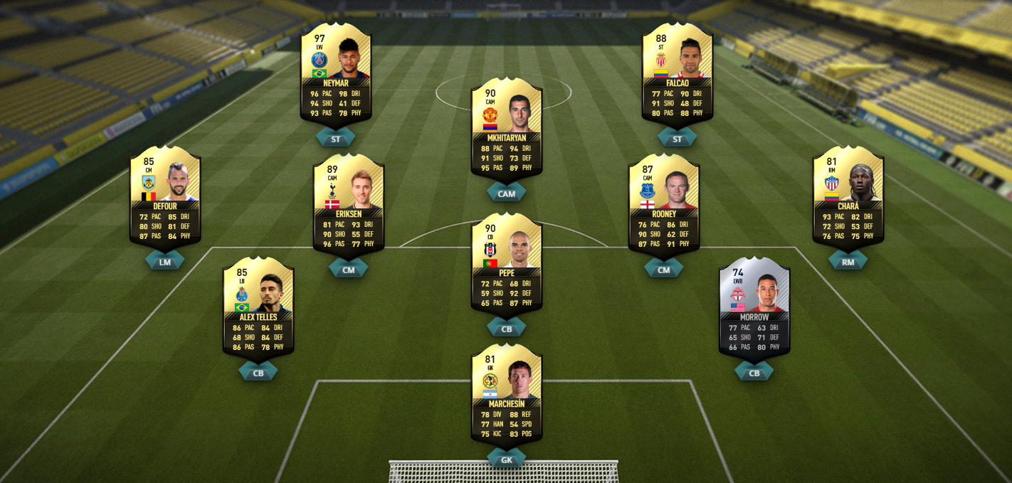 FIFA 17 TOTW 48